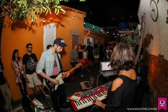 Music under the stars, Que Tal Hostel & Art